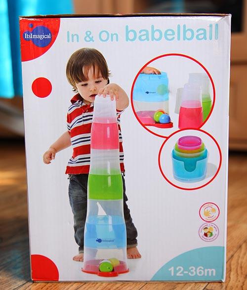 развивающая игрушка Imaginarium Babelball. Коробка