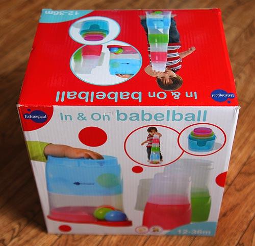 развивающая игрушка Imaginarium Babelball. Башня с шариками. Упаковка
