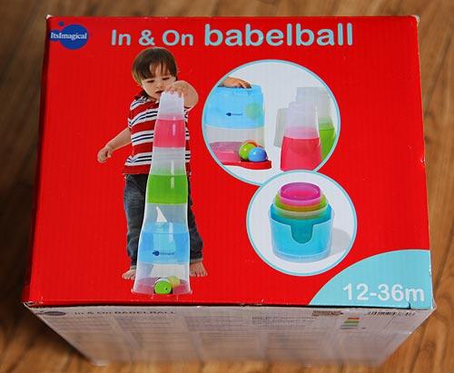 развивающая игрушка Imaginarium Babelball. Развивающая игрушка